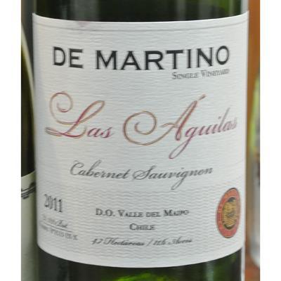 De Martino Single Vineyard Las Aguilas Cabernet Sauvignon 2011