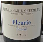Pierre-Marie Chermette Domaine du Vissoux Fleurie Poncie 2013