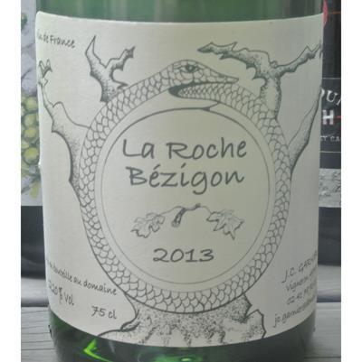 Jean-Christophe Garnier La Roche Bezigon Vin de France Blanc 2013