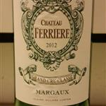 2012 Chateau Ferriere