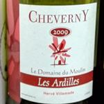 Domaine du Moulin Cheverny Les Ardilles 2009