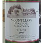 Mount Mary Vineyard Quintet Yarra Valley 1998