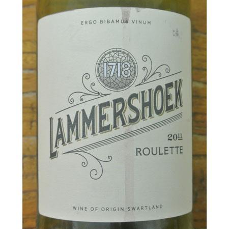 Lammershoek Roulette Swartland 2011