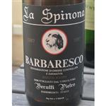 Berutti Pietro La Spinona Bricco Faset Barbaresco 1987