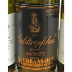 Weingut St. Urbans-Hof Piesporter Goldtropfchen Riesling Kabinett 2014