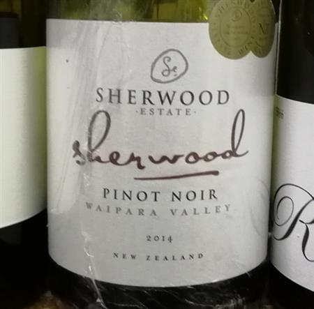 Sherwood Estate Sherwood Pinot Noir 2014