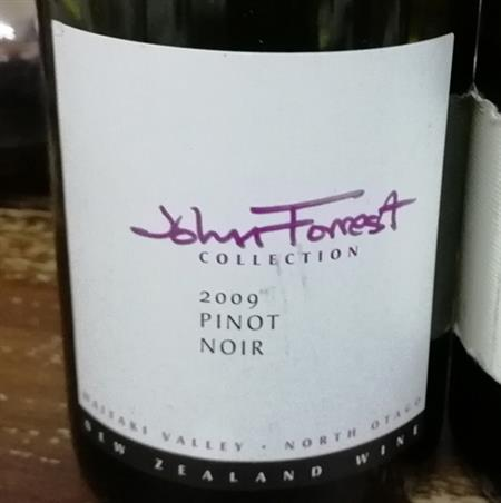 John Forrest Collection Pinot Noir 2009