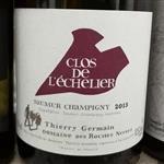 Thierry Germain Domaine des Roches Neuves Saumur-Champigny Clos de l'Echelier 2013