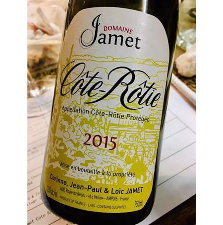 Domaine Jamet Cote Rotie 2015