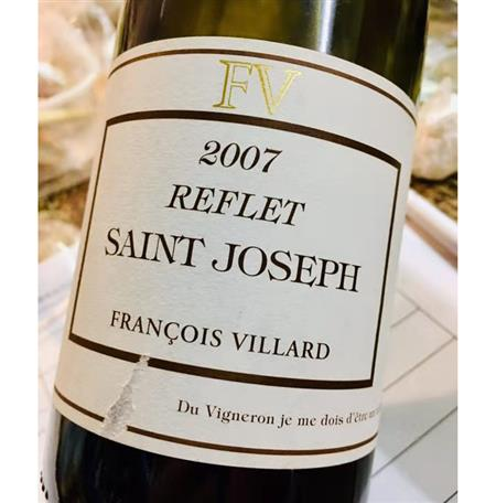 Francois Villard Saint Joseph Reflet 2007