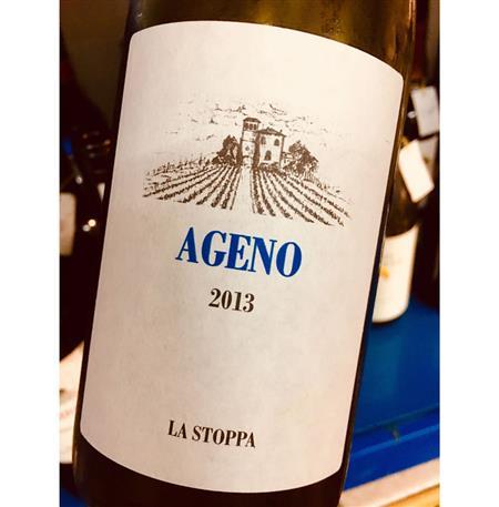 La Stoppa Ageno Bianco(Orange wine)2013
