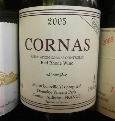 Domaine Vincent Paris Cornas Granit 60 2005