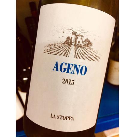 La Stoppa Ageno Bianco(Orange wine)2015