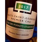 Henri Gouges NSG 1er Cru Clos des Porrets St Georges 2017/