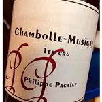 Phillippe Pacalet Chambolle Musigny 1er Cru 2014