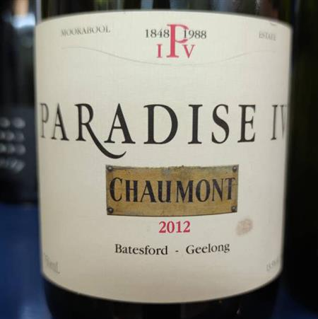 Paradise IV Wines Chaumont Red 2012/