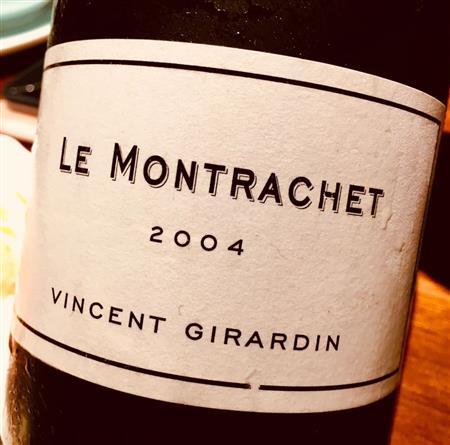 Vincent Girardin Le Montrachet Grand Cru 2004