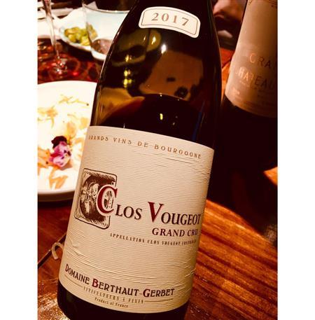 Domaine Berthaut-Gerbet Clos de Vougeot Grand Cru 2017